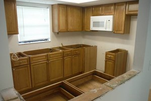 Photo #5: Best price on kitchen cabinets! All wood, all wood!