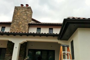 Photo #3: Seamless Rain Gutters. Installation, leaf guard and maintenance