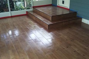Photo #1: JOEY'S TILE SERVICE - Wood, Marble, Ceramic, Floor Covering and Installation
