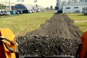 Photo #10: Grading, concrete removal, dirt work, etc