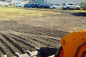 Photo #9: Grading, concrete removal, dirt work, etc