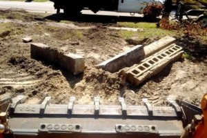 Photo #5: Grading, concrete removal, dirt work, etc