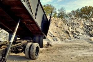 Photo #2: Grading, concrete removal, dirt work, etc