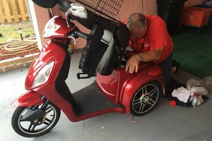 Photo #7: Vinnies Mobile Electric Scooter & Bicycle Repair