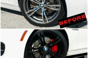 Photo #12: Want to BLACKOUT your RIDE? Rims, Emblems, ROOF Wraps, Brake Calipers