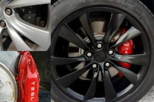 Photo #3: Want to BLACKOUT your RIDE? Rims, Emblems, ROOF Wraps, Brake Calipers