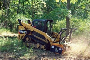 Photo #4: Land clearing!! Grading!! Skid steer services!!! Demolition