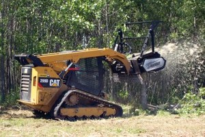 Photo #3: Land clearing!! Grading!! Skid steer services!!! Demolition