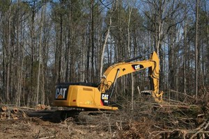 Photo #2: Land clearing!! Grading!! Skid steer services!!! Demolition