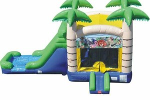 Photo #1: $179 castle jump house and water slide rental