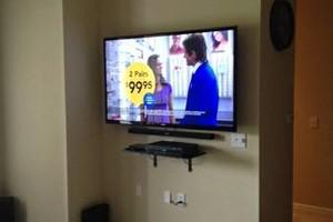 Photo #1: Rates Paul's Insulation. $85 TV Mounting & instillation