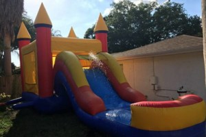 Photo #5: Bounce House/ Waterslide and Party Supplies. Hamrock party rentals