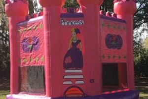 Photo #1: Bounce House/ Waterslide and Party Supplies. Hamrock party rentals