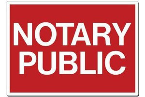 Photo #1: Certified Notary Public - $10 first page married certificate