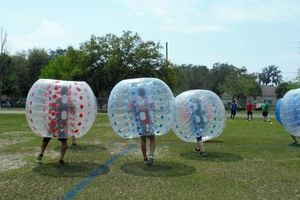 Photo #2: Bubble Ball Soccer games and equipment