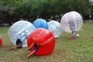 Photo #1: Bubble Ball Soccer games and equipment