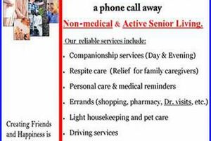 Photo #1: Pinellas Senior Services. We can, and we will work within your budget!