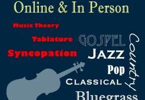 Photo #1: Violin, Guitar, Mandolin, Banjo, and Bass Lessons