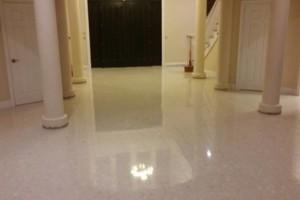 Photo #1: The Floor Guy Inc. Stone Floor Specialist Concrete, Marble, Terrazzo
