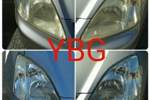 Photo #2: YBG HEADLIGHT RESTORATION