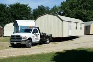 Photo #1: Portable storage building and shed movers