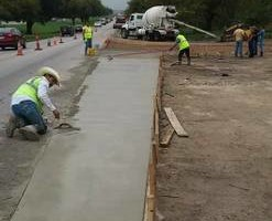 Photo #2: Vallejo Concrete (retaining walls/curbs/driveways)