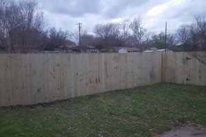 Photo #9: E-FAB construction and fence