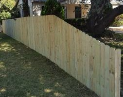 Photo #2: E-FAB construction and fence