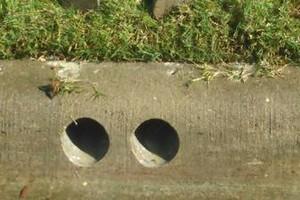 Photo #1: Concrete core drilling