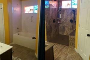 Photo #8: BATHVISION - Walk In Showers, Vanity Tops, Full Bathroom Remodeling