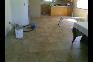 Photo #1: Custom Building and remodeling - floor refinishing, tile work, furniture restoration