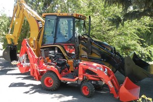 Photo #2: Tractor/backhoe work - small and large - $45/hr/$75/hr