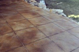 Photo #5: Acid Stains and Sealer. Concrete Concepts