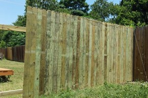 Photo #1: Wood Fence Buiders