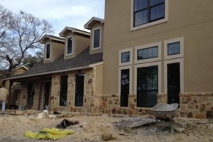 Photo #1: Masonry work - stucco, flagstone, brick, rock, concrete