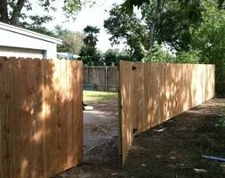 Photo #2: Cliffs fence! Lowest price ever on a cedar pickett fence! $19.00/foot