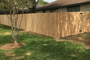 Photo #1: Cliffs fence! Lowest price ever on a cedar pickett fence! $19.00/foot