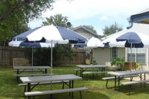 Photo #2: Tables & Chairs Rental/ Picnic table with Umbrella Shade