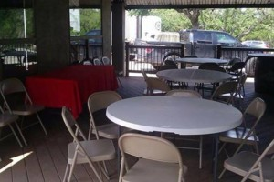 Photo #1: Tables & Chairs Rental/ Picnic table with Umbrella Shade