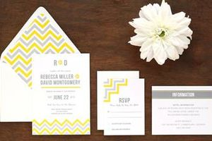 Photo #1: Professional Wedding Invitation Design
