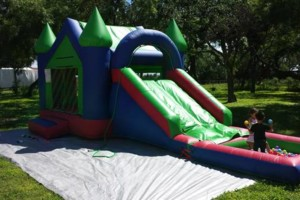 Photo #6: Moonbounce jumper combo water slide or ball pit