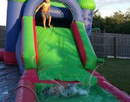Photo #5: Moonbounce jumper combo water slide or ball pit