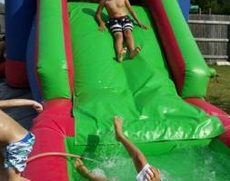 Photo #4: Moonbounce jumper combo water slide or ball pit