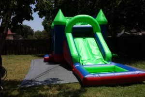 Photo #3: Moonbounce jumper combo water slide or ball pit