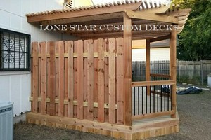 Photo #3: Arresting Your Attention With Arbors! Lone Star Custom Decks