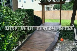 Photo #2: Arresting Your Attention With Arbors! Lone Star Custom Decks