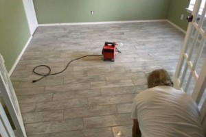 Photo #2: Beltran Tile. Special on Floor Tile Installation!