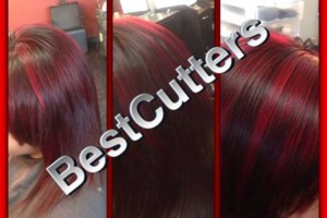 Photo #15: Eliana's Best Cutters. –Cut, Color, Full Head of Highlights & Style