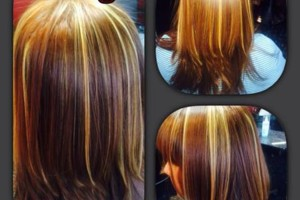 Photo #3: Eliana's Best Cutters. –Cut, Color, Full Head of Highlights & Style