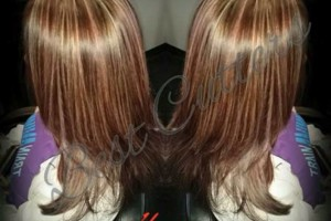 Photo #2: Eliana's Best Cutters. –Cut, Color, Full Head of Highlights & Style